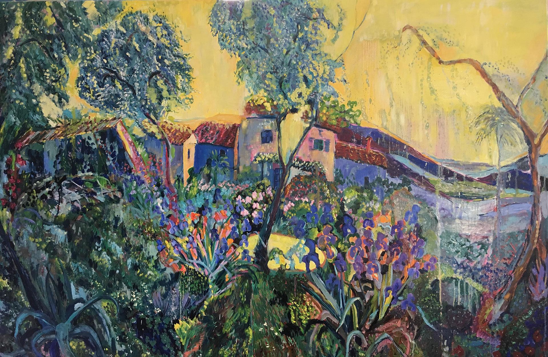 Damema Papini y von Marcard, pittrice